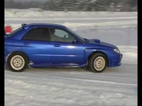 Subaru ja Mariine Auto talvekaravan LaitseRallyPargis
