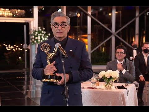 72nd Emmy Awards: Eugene Levy Wins for Outstanding Lead Actor in a Comedy Series