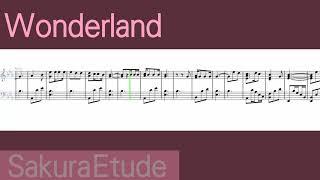 バースデー・ワンダーランド イメージソング「Wonderland」(ピアノアレンジ) - Birthday wonderland Image Song(Piano)
