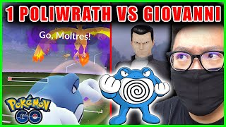 I DEFEATED GIOVANNI WITH ONLY 1 POLIWRATH - Pokemon GO Challenge