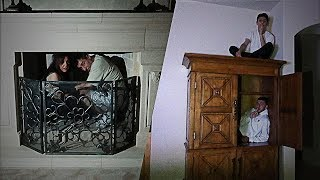 SCARY HIDE AND SEEK IN THE DARK!! (NEW HOUSE)   FaZe Rug
