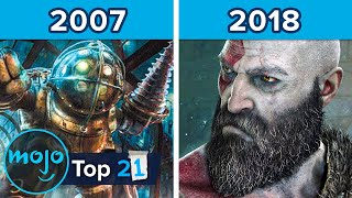 Top 21 Best Video Games of Each Year (2000 - 2020)