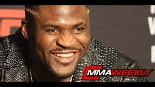 UFC on ESPN 1 Post-Fight Press Conference: Francis Ngannou  (Complete)