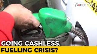 Petrol pumps defer protest till Jan 13; agree to accept ca..