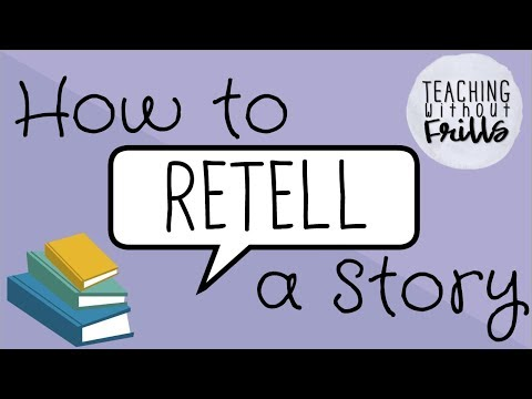 How To Retell a Story For Kids / ViewPure