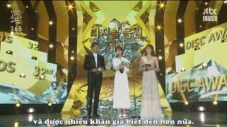 [VIETSUB] 180110 IU nhận giải DAESANG tại lễ trao giải Golden Disk Awards 2018