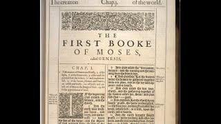 1611 King James Bible - Genesis -ORIGINAL Ch 1 to 5