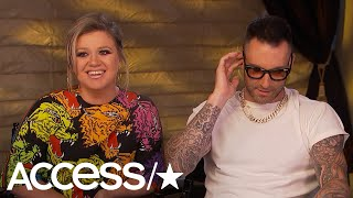 'The Voice': Kelly Clarkson & Adam Levine Create A Fantasy Music Supergroup During Our Interview!