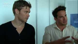 Michael Trevino  Joseph Morgan Interview in Monte Carlo 2012  HD 720P