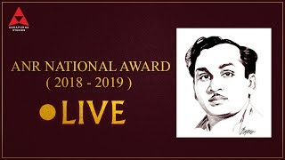 ANR National Awards 2018 - 2019 LIVE- Nagarjuna, Chiranjee..