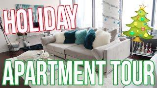 HOLIDAY APARTMENT TOUR!! Vlogmas Day 6