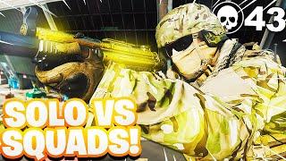 My New PR 43 KILL WIN in *SOLO* SQUADS (Modern Warfare Warzone!)