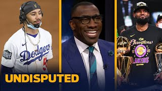 LeBron's Lakers or Mookie's Dodgers, who had a more impressive championship run? | UNDISPUTED