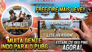 FREE FIRE LITE EM BREVE!! PUBG DEIXOU A GARENA NO CHINELO E COMO DEIXAR O PING MUITO BAIXO NO JOGO!