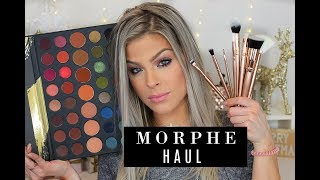 Morphe HAUL /  39A palette swatches & Brushes | Valerie Pac