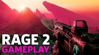 8 Minutes of Rage 2 Gameplay | QuakeCon 2018