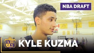 Lakers Draft Prospect: Kyle Kuzma Interview (Utah, Forward)