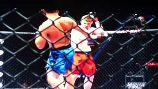 Sam Alvey- Brutal knockout