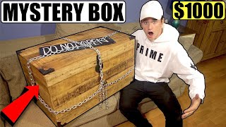 (Scary) I Bought a $1000 Mystery Box off the DARK WEB and it was insanely scary... **Cursed**