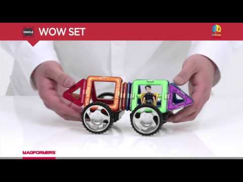Magformers Wow Set - Magnetic Construction Set