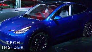 Watch Elon Musk Unveil The Tesla Model Y SUV