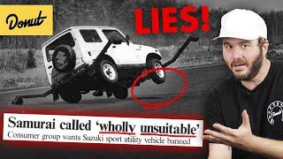SUZUKI SAMURAI: How Fake News Killed Suzuki | Up To Speed