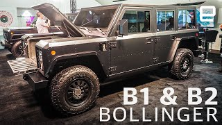 Bollinger B1 & B2: An electric work truck with serious power