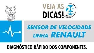 DICA MTE 29 – Sensor de Velocidade Linha Renault