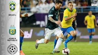 Brazil 0-1 Argentina - HIGHLIGHTS & GOALS - 11/15/19