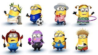 Despicable Me 2 Minion Rush Unlock All Minions All Special Missions | The Best of Minions