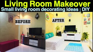 Small Living Room Decoration Ideas | DIY | Makeover Part 1