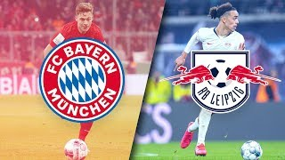 Buddies & Opponents - Kimmich & Poulsen in a double interview about FC Bayern vs. RB Leipzig