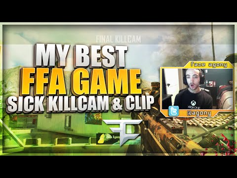 MY BEST FFA GAME EVER!! (BO2 w/ Killcam & Sick Clip)