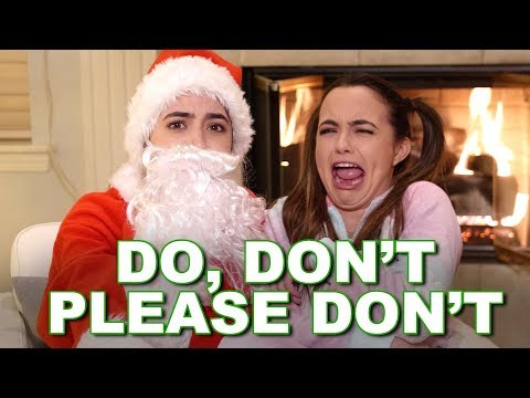 Christmas: Do, Don't, Please Don't - Merrell Twins
