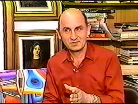 Interview of artist Jacob Pichhadze - aired in NEWCON TV (1996)