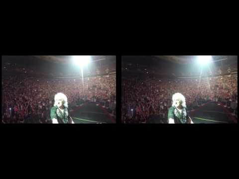 @DrBrianMay Selfie Stick Video |3D| Vancouver, Canada [July 2, 2017] Queen + Adam Lambert