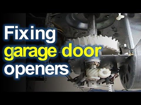 Craftsman Liftmaster Garage Door Opener Won T Open Or