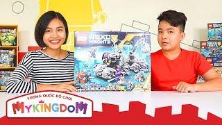 LEGO Nexo Knights - Vui Cùng Hiệp Sĩ Nexo | Lắp Ráp Tổng Hành Dinh của Jesstro 70352