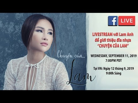 Livestream với Lam Anh - Giới thiệu đĩa nhựa