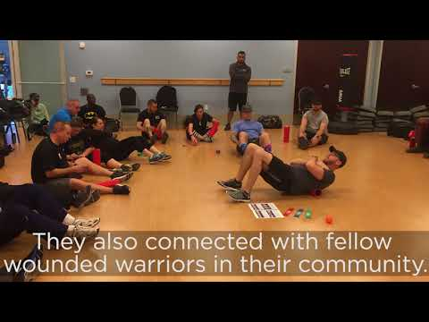 Physical health and wellness activities help warriors cope with stress and emotional concerns. Here, warriors focus on improving their mobility and exercise safely around injuries or other limitations.