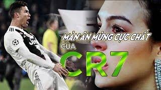 Màn ăn mừng cực chất của CR7 sau khi lập Hat-trick