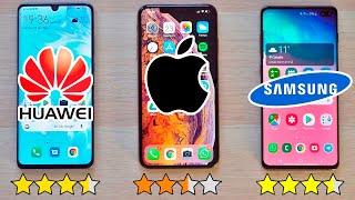 P30 PRO vs Galaxy S10+ vs iPhone XS Max | EL MEJOR MOVIL 2019