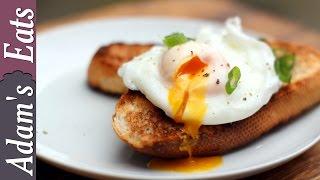 Perfect poached egg 4 ways | poaching eggs masterclass