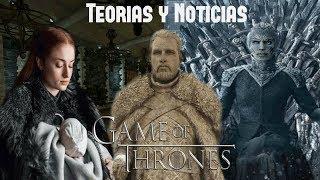 ¿Sansa como madre adoptiva? ¿Duración de Ep. Temp. 8 confirmada? + Noticias
