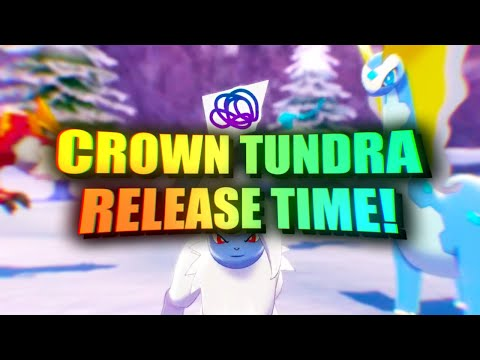 The TIME Crown Tundra Will Release | Pokemon Sword and Shield DLC!