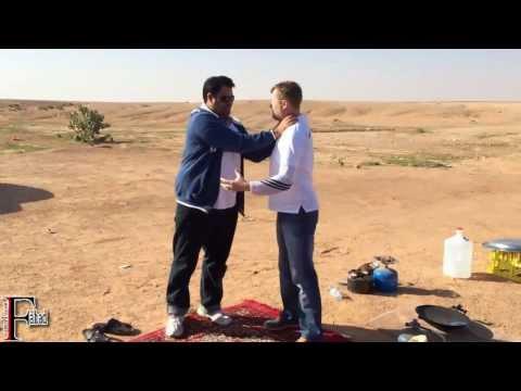 مدرب كاراتيه بريطاني يتحدى شابا سعوديا .. شاهد النتيجة