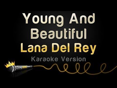 Baixar Lana Del Rey - Young And Beautiful (Karaoke Version)