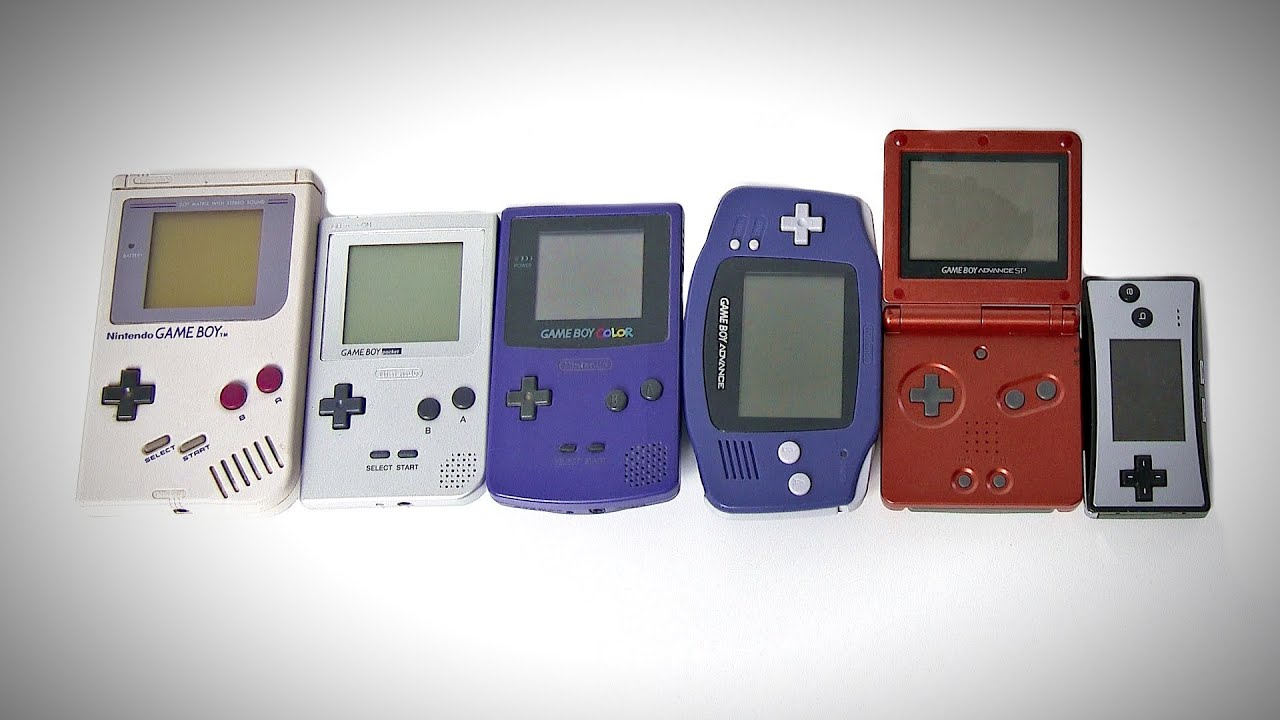 The Game Boy Collection (Pocket, Color, Advance, SP, Micro ...