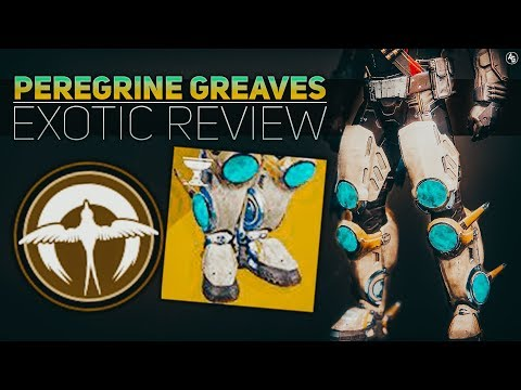 Peregrine Greaves Exotic Review (The Most Titan Exotic)   Destiny 2 Season of Opulence