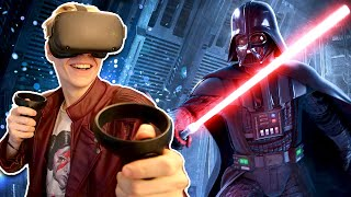 MEETING DARTH VADER | Star Wars: Vader Immortal - Episode 1 (Oculus Quest VR Gameplay)